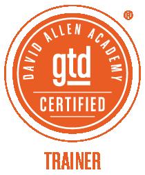 Certified GTD® Trainer